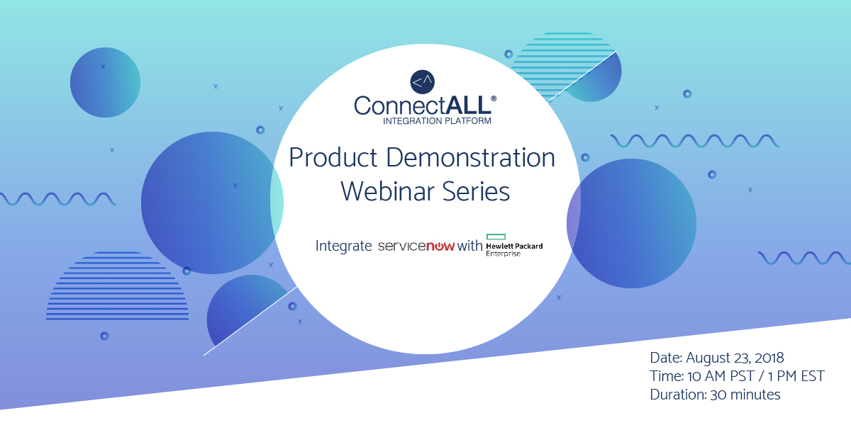 ConnectALL Webinar - SNOW HPE ALM