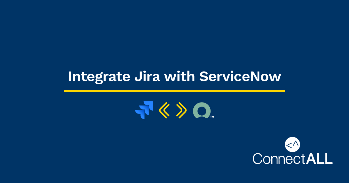 Integrate Jira with SNow