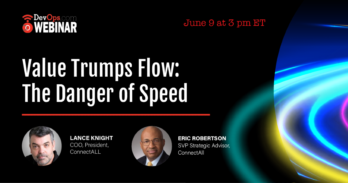 Value Trumps Flow: The Danger of Speed
